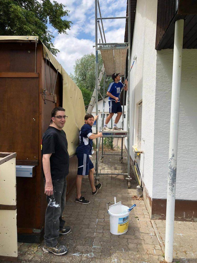 Renovierung des Kabinenbereichs